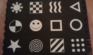 sensory soft play mat