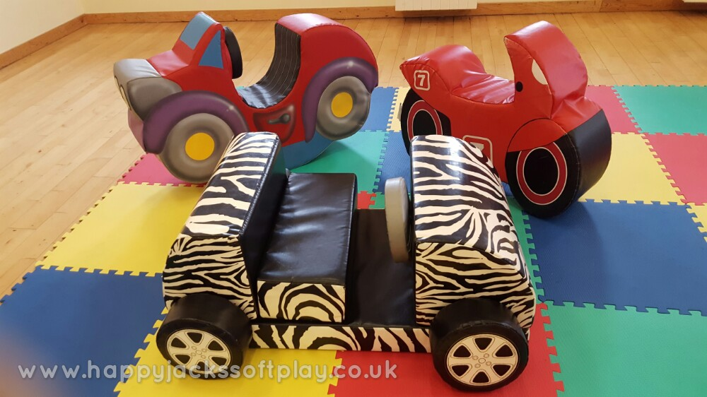 Vehicle Soft Play x 3- £40