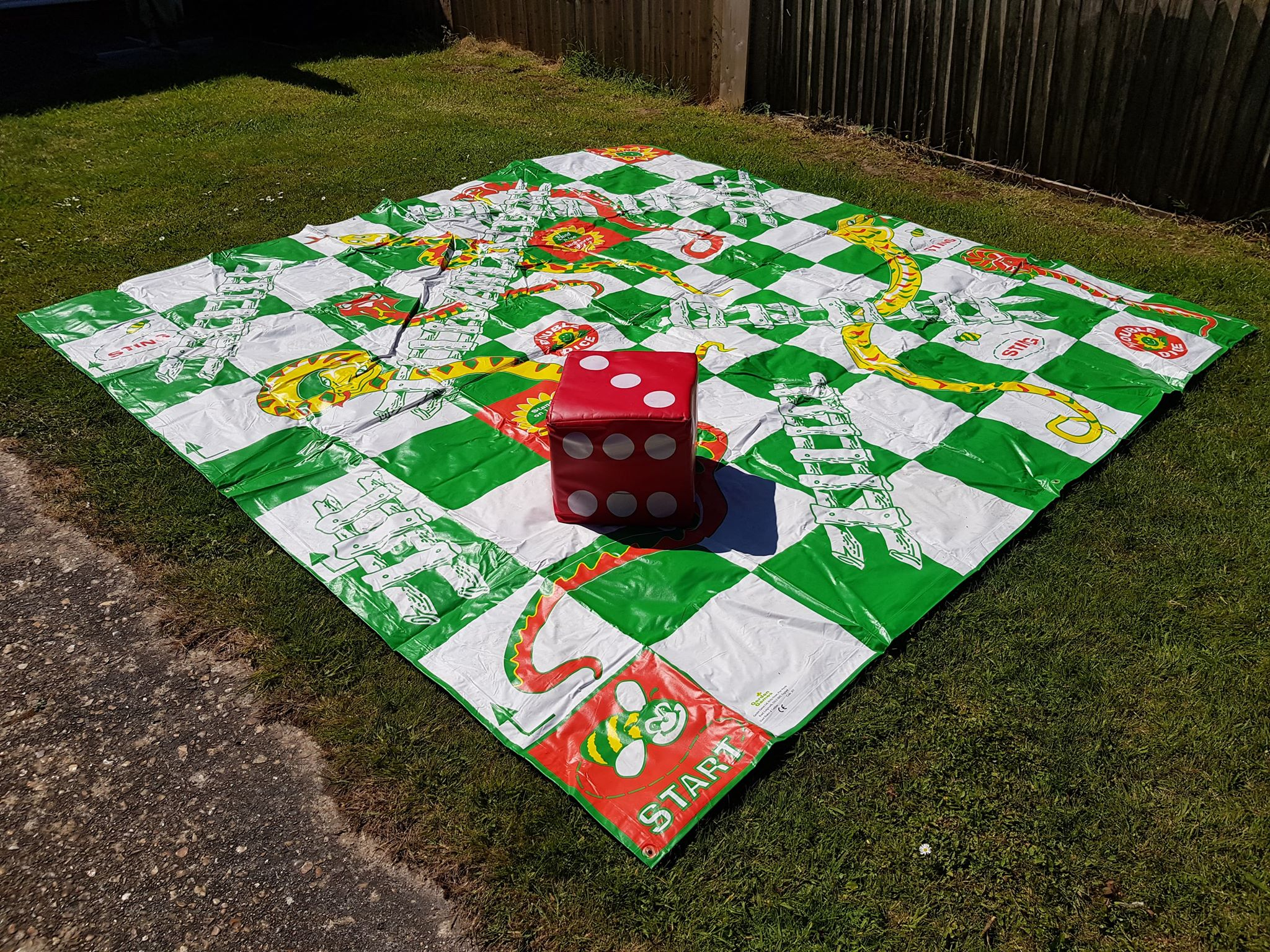 Giant Snakes & Ladders 3mx3m